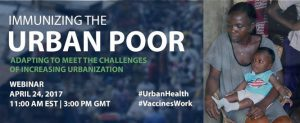 immunizing urban poor webinar