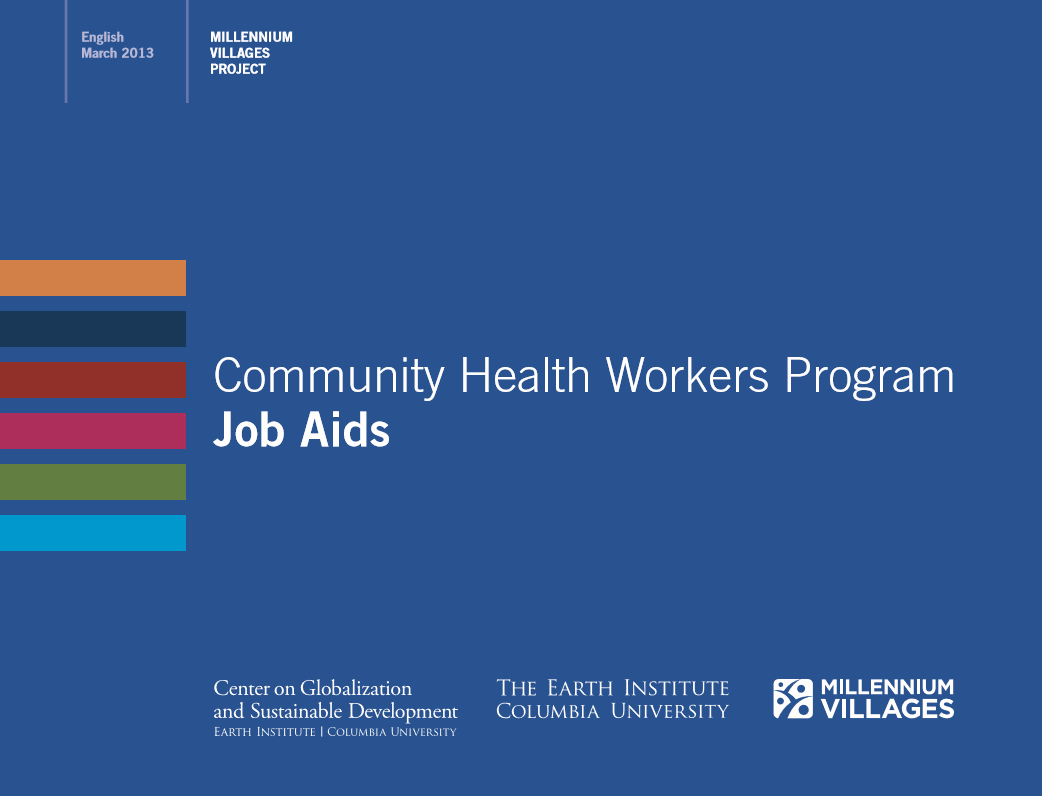 Community Health Workers Program Job Aids – Healthy Newborn