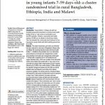 First page of article including title, authors, journal information