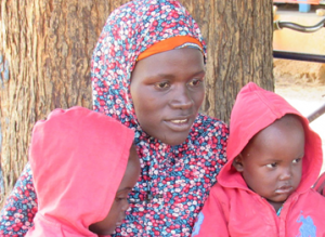 Fatoumata and her children