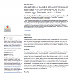 First page of article including authors, abstract, and publication date