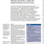 First Page of Article, including authors, abstract, publication date, and journal info