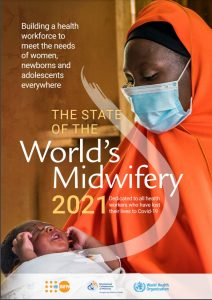 State Of The World's Midwifery 2021 report cover page