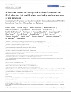 First page of article including title, authors, and their afiliations